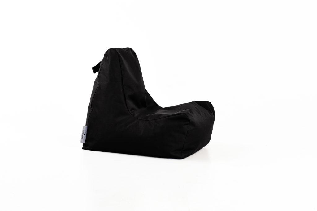 sėdmaišis vaikams SEAT OUTSIDE KIDS, juodas