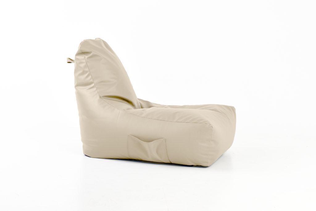 eko odos sėdmaišis Seat Posh, kreminis