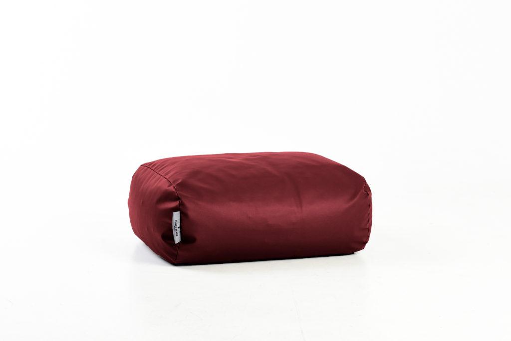 pufas Oval, raudonas