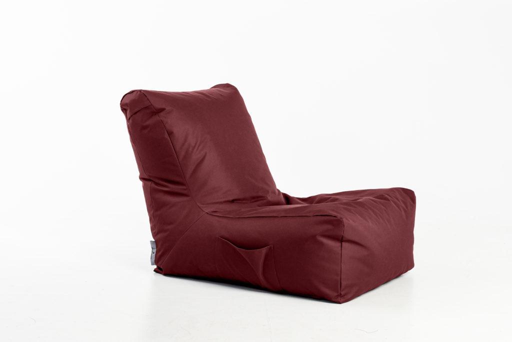 Eko odos sėdmaišis Seat Posh, raudonas