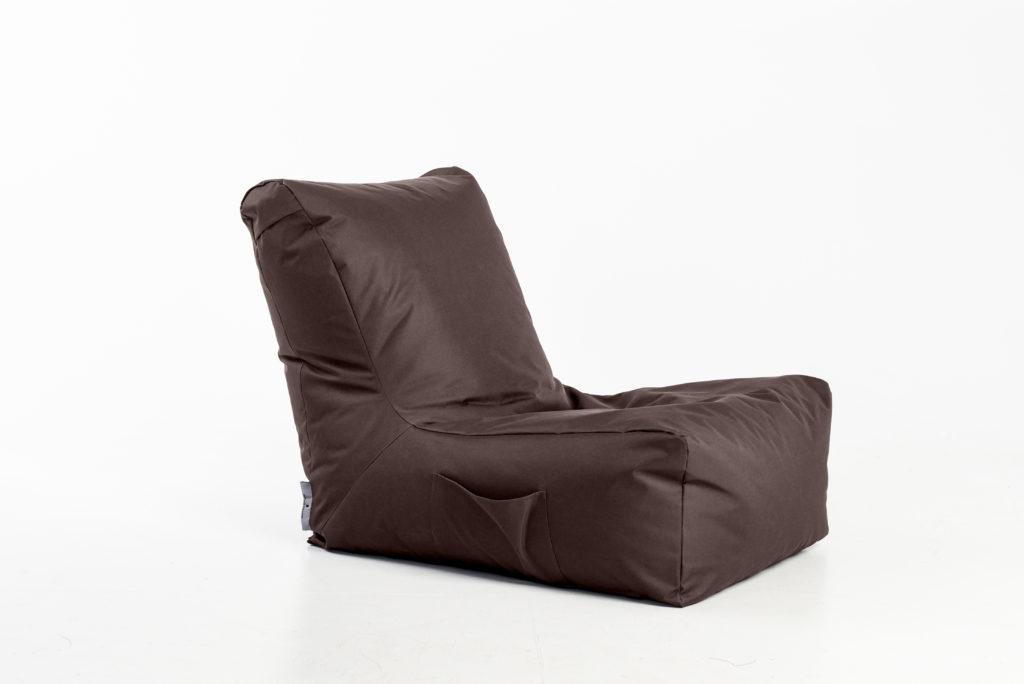 Eko odos sėdmaišis Seat Posh, rudas