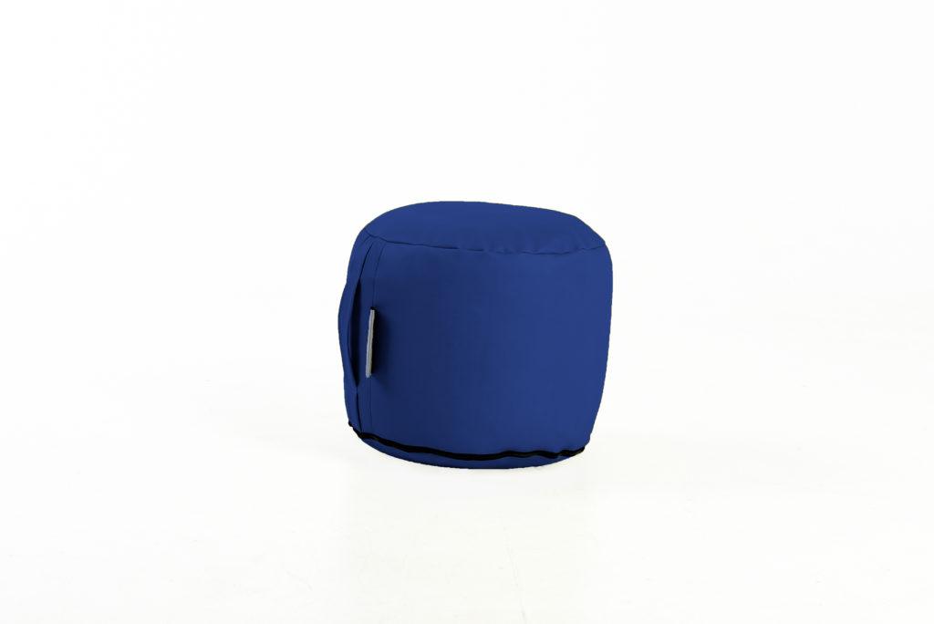 vaikiškas pufas, mėlynas