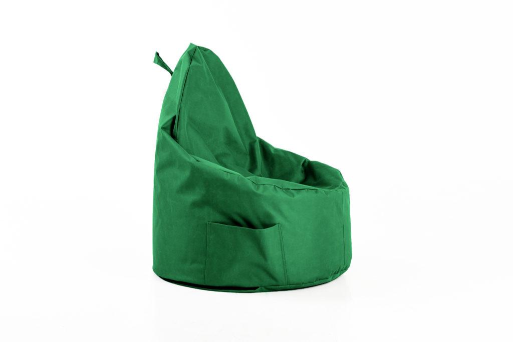 vaikiškas sėdmaišis Cozy Kids outside, žalias
