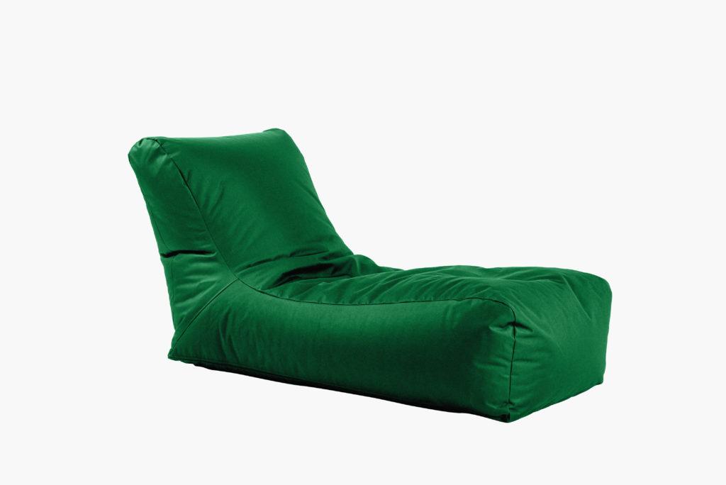 sėdmaišis Lounge outside, žalias