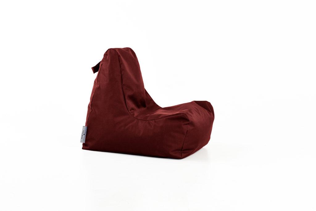 vaikiškas sėdmaišis SEAT OUTSIDE KIDS bordo